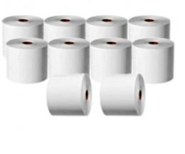 10 Thermal Paper Rolls 44x70x11mm