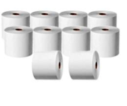 10 Thermal Paper Rolls 44x75x11mm