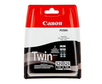 2 Original Ink Cartridges, Canon PGI-525 Black 19ml