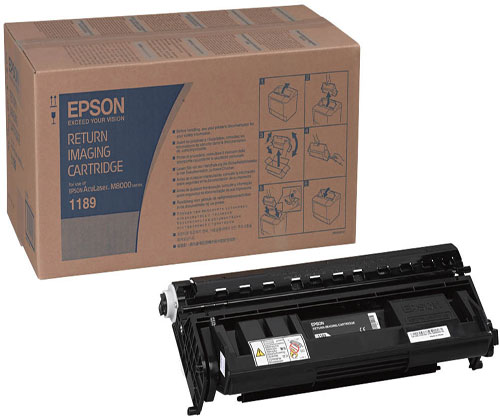 Original Toner Epson S051189 Black ~ 15.000 Pages