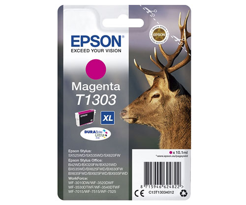 Original Ink Cartridge Epson T1303 Magenta 10.1ml ~ 755 Pages