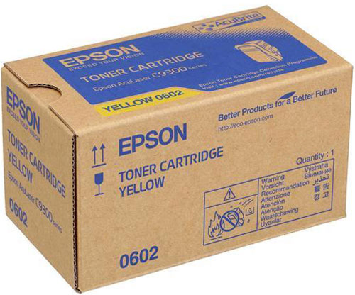 Original Toner Epson S050602 Yellow ~ 7.500 Pages