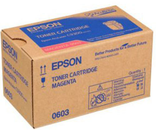 Original Toner Epson S050603 Magenta ~ 7.500 Pages