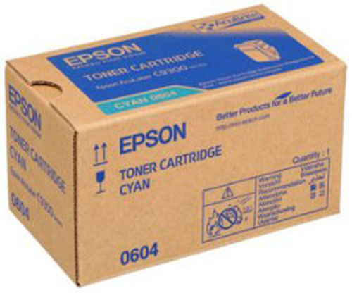 Original Toner Epson S050604 Cyan ~ 7.500 Pages
