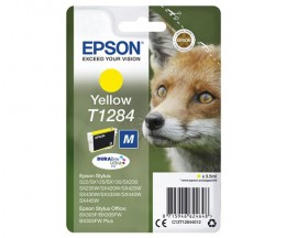 Original Ink Cartridge Epson T1284 Yellow 3.5ml ~ 225 Pages