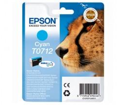Original Ink Cartridge Epson T0712 Cyan 5.5ml