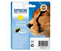 Original Ink Cartridge Epson T0714 Yellow 5.5ml