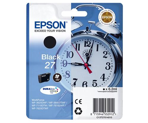 Original Ink Cartridge Epson T2701 / 27 Black 6.2ml