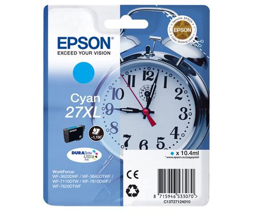Original Ink Cartridge Epson T2712 / 27 XL Cyan 10.4ml
