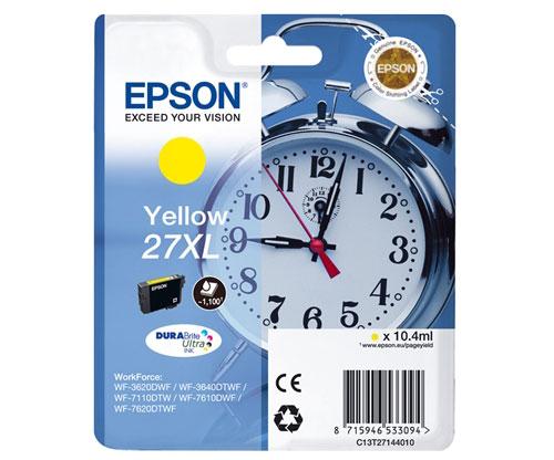 Original Ink Cartridge Epson T2714 / 27 XL Yellow 10.4ml