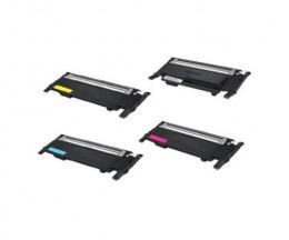 4 Compatible Toners, Samsung 404S Black + Color ~ 1.500 / 1.000 Pages