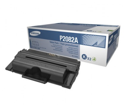 2 Original Toners, Samsung P2082A ELS Black ~ 10.000 Pages