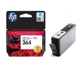 Original Ink Cartridge HP 364 Black Photo 3ml ~ 130 Pages