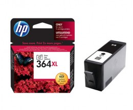 Original Ink Cartridge HP 364 XL Black Photo 7ml ~ 290 Pages