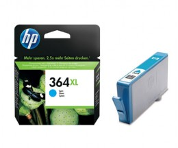 Original Ink Cartridge HP 364 XL Cyan 6ml ~ 750 Pages