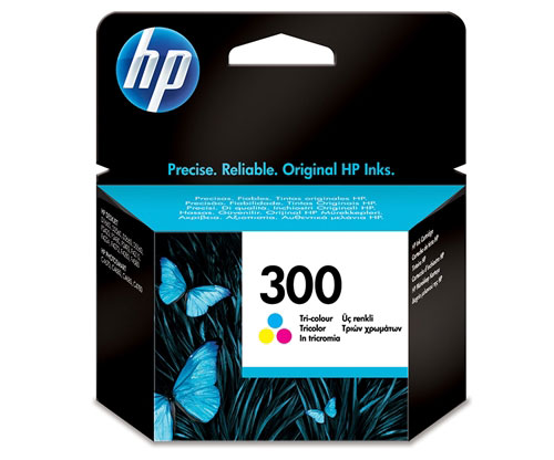 Original Ink Cartridge HP 300 Color 4ml ~ 165 Pages