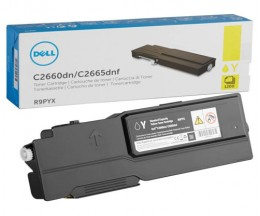 Original Toner DELL 593BBBO / RP5V1 Yellow ~ 1.200 Pages