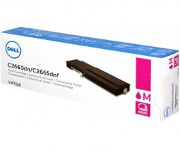 Original Toner DELL 593BBBS / VXCWK Magenta ~ 4.000 Pages