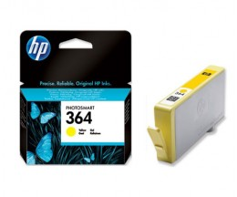 Original Ink Cartridge HP 364 Yellow 3ml ~ 300 Pages