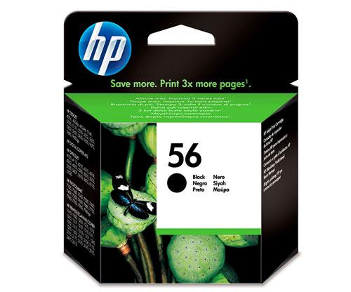 Original Ink Cartridge HP 56 Black 19ml ~ 520 Pages