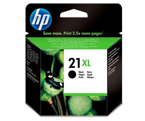 Original Ink Cartridge HP 21 XL Black 12ml ~ 475 Pages