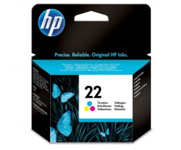 Original Ink Cartridge HP 22 Color 5ml ~ 165 Pages