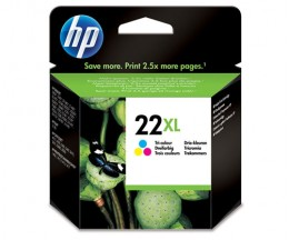 Original Ink Cartridge HP 22 XL Color 11ml ~ 415 Pages