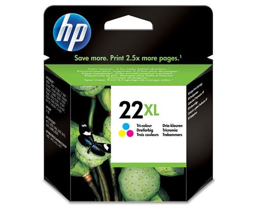 Original Ink Cartridge HP 22 XL Color 11ml ~ 415 Pages