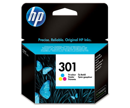Original Ink Cartridge HP 301 Color 3ml ~ 165 Pages