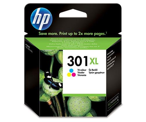 Original Ink Cartridge HP 301 XL Color 6ml ~ 330 Pages