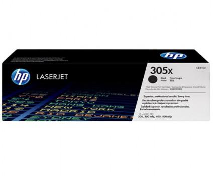2 Original Toners, HP 305X Black ~ 4.000 Pages