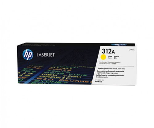Original Toner HP 312A Yellow ~ 2.700 Pages