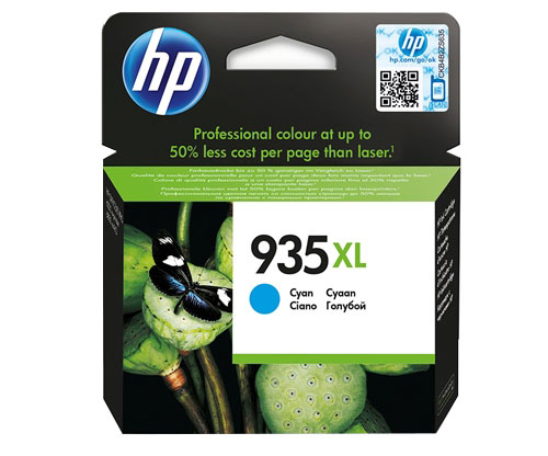 Original Ink Cartridge HP 935 XL Cyan ~ 825 Pages