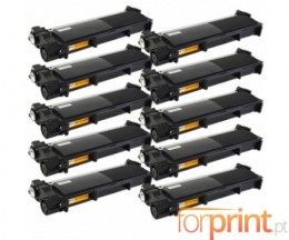 10 Compatible Toners, Brother TN-2320 Black ~ 2.600 Pages