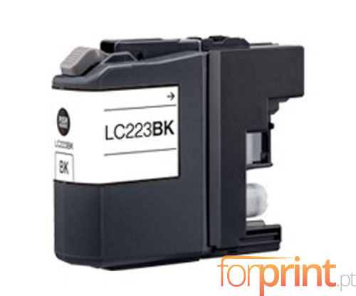 Compatible Ink Cartridge Brother LC-221 BK / LC-223 BK Black 16.6ml