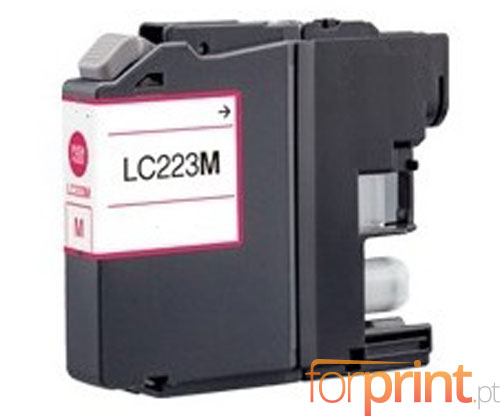 Compatible Ink Cartridge Brother LC-221 M / LC-223 M Magenta 9ml