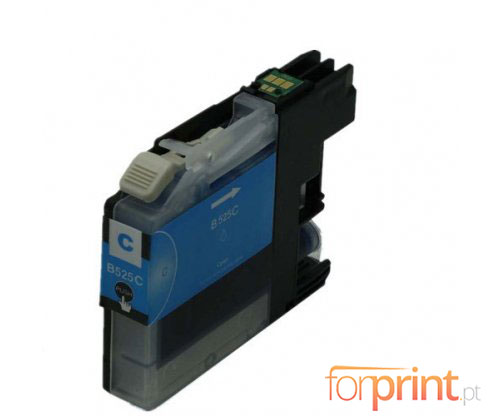 Compatible Ink Cartridge Brother LC-525 XL C Cyan ~ 1.500 Pages