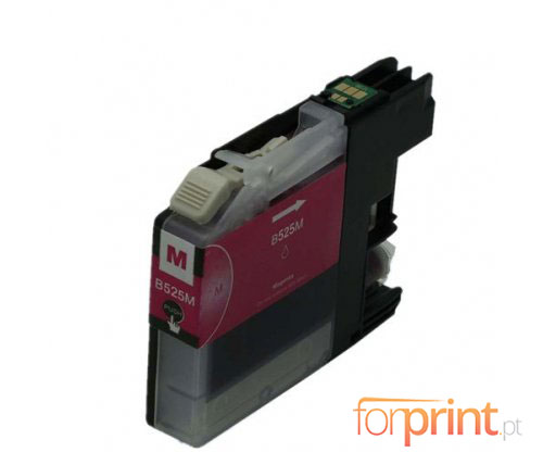 Compatible Ink Cartridge Brother LC-525 XL M Magenta ~ 1.500 Pages