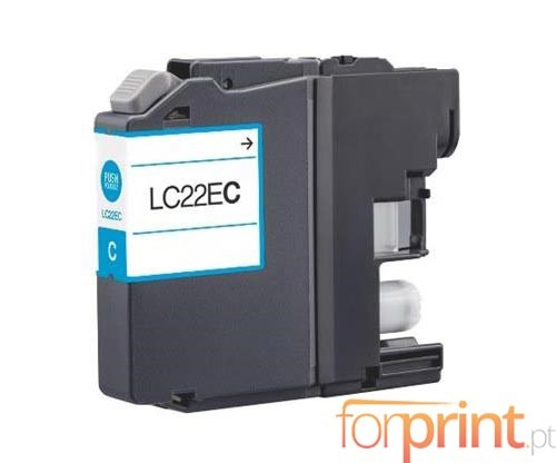 Compatible Ink Cartridge Brother LC-22E C Cyan