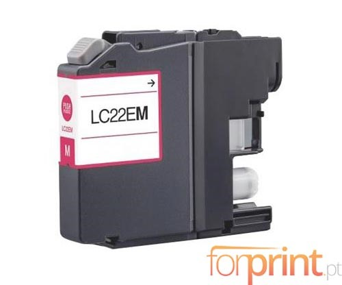 Compatible Ink Cartridge Brother LC-22E M Magenta
