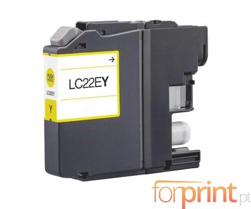 Compatible Ink Cartridge Brother LC-22E Y Yellow