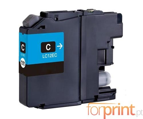 Compatible Ink Cartridge Brother LC-12E C Cyan