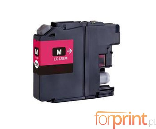 Compatible Ink Cartridge Brother LC-12E M Magenta