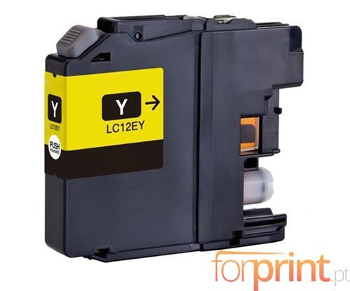 Compatible Ink Cartridge Brother LC-12E Y Yellow