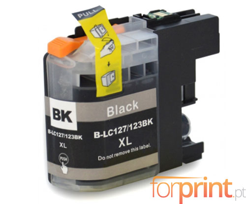 Compatible Ink Cartridge Brother LC-121 BK / LC-123 BK Black 20.6ml