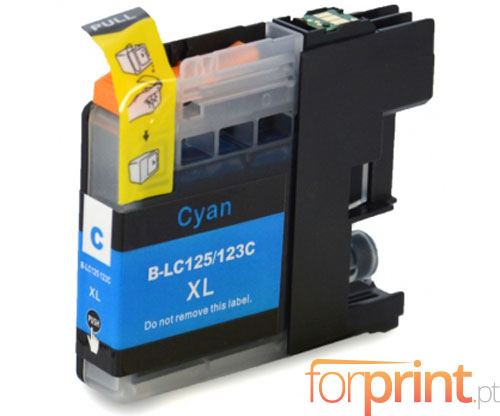 Compatible Ink Cartridge Brother LC-121 C / LC-123 C Cyan 10ml