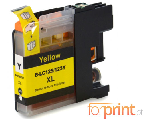 Compatible Ink Cartridge Brother LC-121 Y / LC-123 Y Yellow 10ml