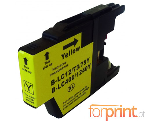 Compatible Ink Cartridge Brother LC-1220 Y / LC-1240 Y / LC-1280 Y Yellow 16.6ml