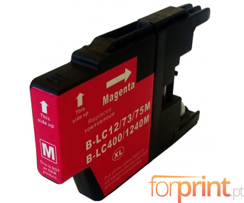 Compatible Ink Cartridge Brother LC-1220 M / LC-1240 M / LC-1280 M Magenta 16.6ml