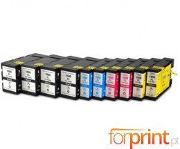 10 Compatible Ink Cartridges Canon PGI-1500 Black 36ml + Color 11.5ml